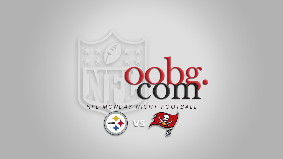 Monday Night Football: Pittsburgh Steelers at Tampa Bay Buccaneers