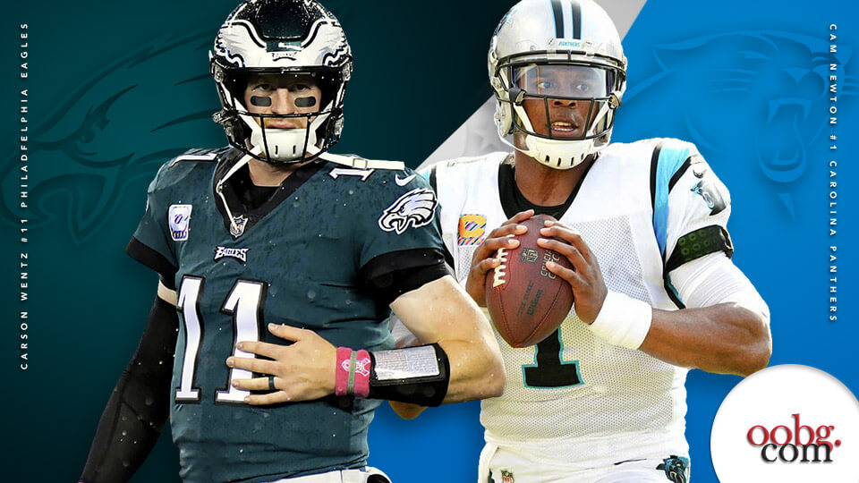 NFL Betting Action: Five Bold Predictions for Week 6 Carson-Wentz-vs-Cam-Newton