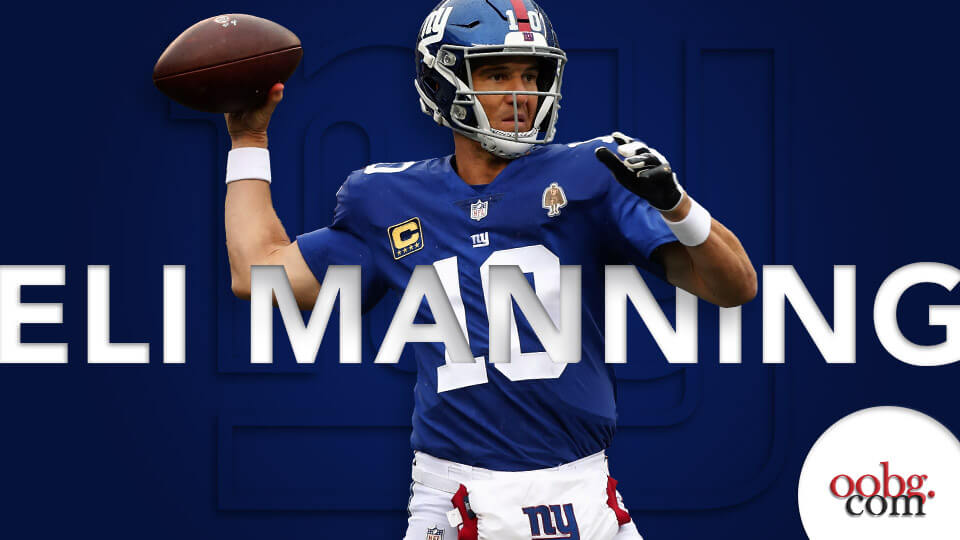 NFL Betting Action: Five Bold Predictions for Week 6 Eli-Manning