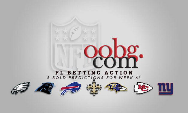 NFL Betting Action: Five Bold Predictions for Week 7!