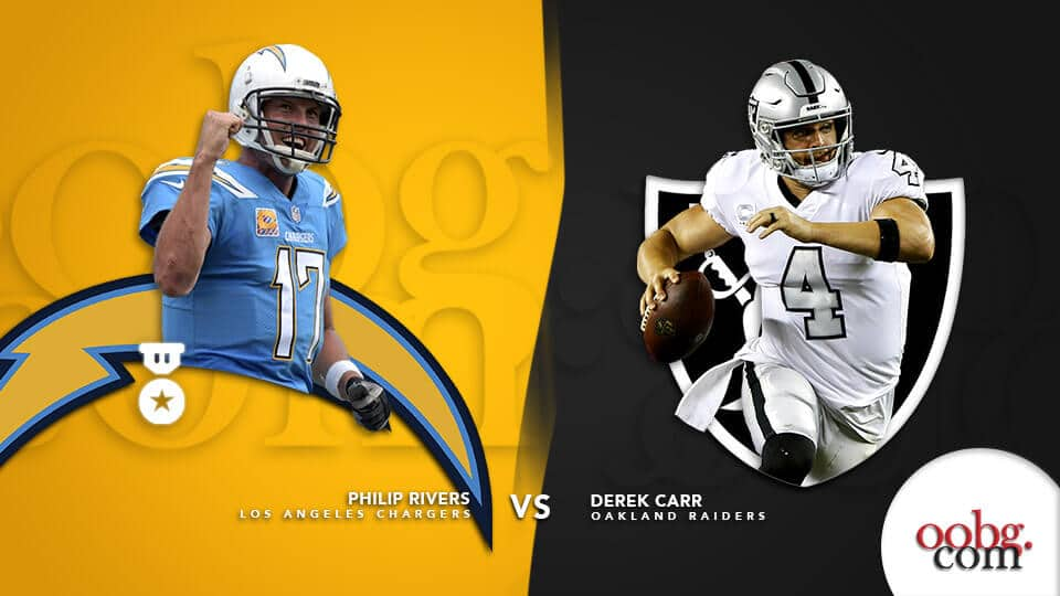 NFL Parlay Picks provided by YouWager Los Angeles Chargers vs. Oakland Raiders