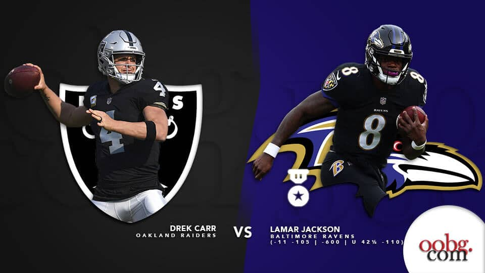 NFL Betting Favorites You Should Not Let Pass on Week 12 Oakland-Raiders-at-Baltimore-Ravens
