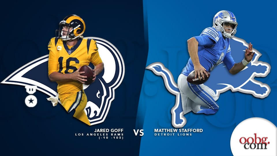 NFL betting favorites you should not let pass on Week 13 Rams-vs-Lions