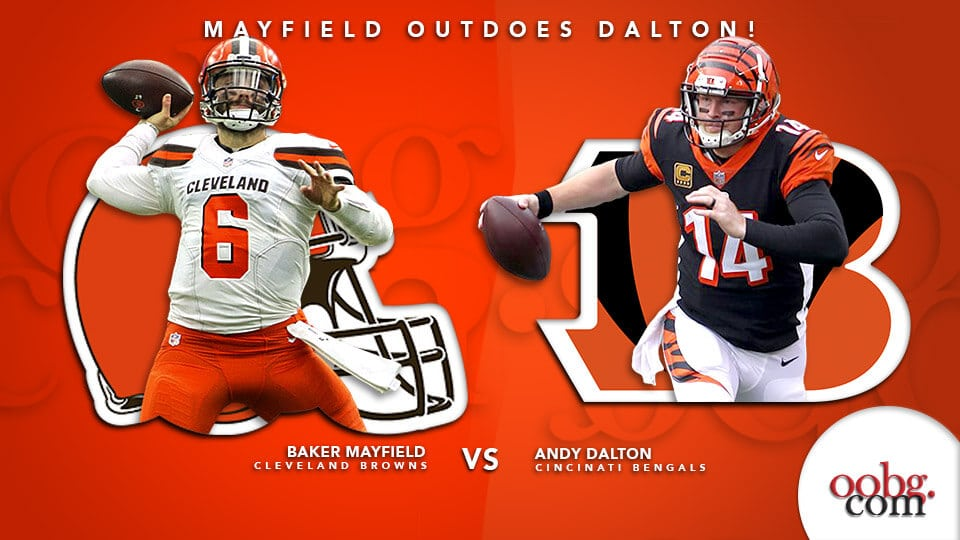 NFL Betting Action: Five Bold Predictions for Week 16! Baker-Mayfield-Vs-Andy-Dalton