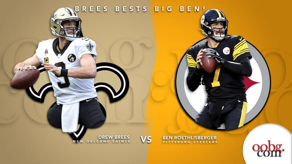 NFL Betting Action: Five Bold Predictions for Week 16! Drew-Brees-Vs-Ben-Roethlisberger