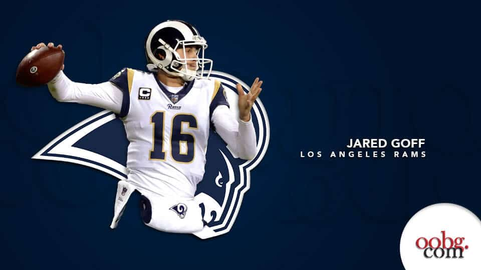 Sunday Night Football: Philadelphia Eagles at Los Angeles Rams_Jared-Goff