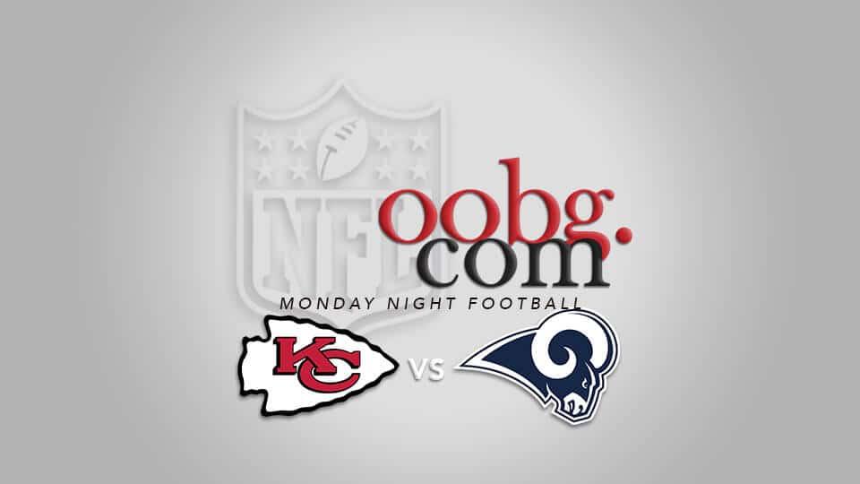 Monday Night Football: Kansas City Chiefs at Los Angeles Rams